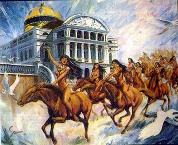 Icamiabas guerreiras do Nhamudá