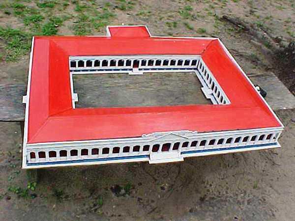 Maquete de como era Obras de Paricatuba Antigamente foto : http://www.facebook.com/ParicatubaAntigamente