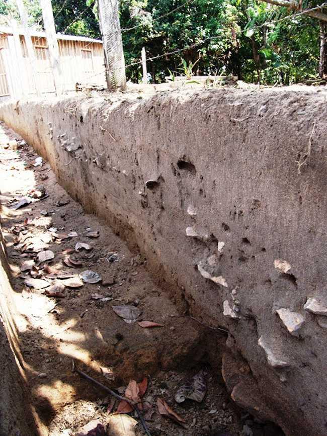 Cerâmicas encontradas nas Ruinas de Paricatuba