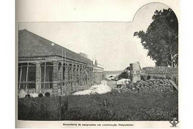 vila de Paracatuba antigamente