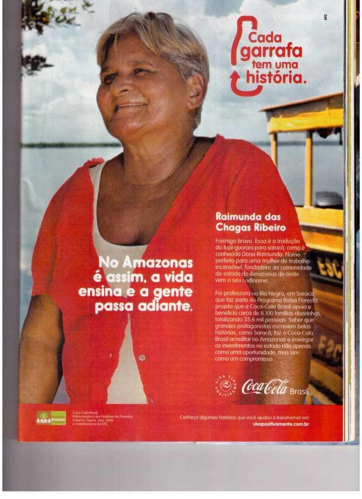 No Amazonas é assim, a vida ensina e a gente passa adiante.