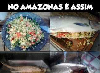 Receita da Matrinxã assada no forno por Xico Branco