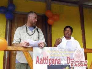 Ronaldo Apolinário e Osinete Paiva, gerentes de produção da Casa da Pimenta