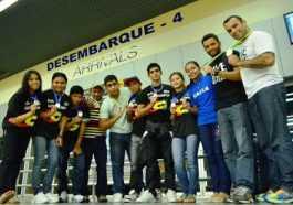 Delegação voltou com 11 medalhas - foto: Emanuel Mendes/Sejel