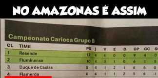 Maior jornal de Manaus comete erro e chama Flamengo de 'Flamerda'