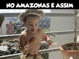 No Amazonas é Assim - Não permitamos que nossas crianças sintam vergonha de suas raízes