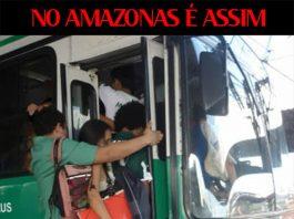 No Amazonas é assim – Sempre cabe mais um