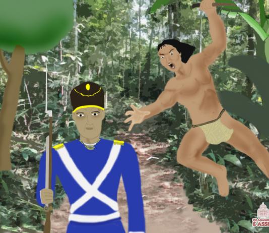 O Guerreiro Ajuricaba Ilustração : Igor Medeiros