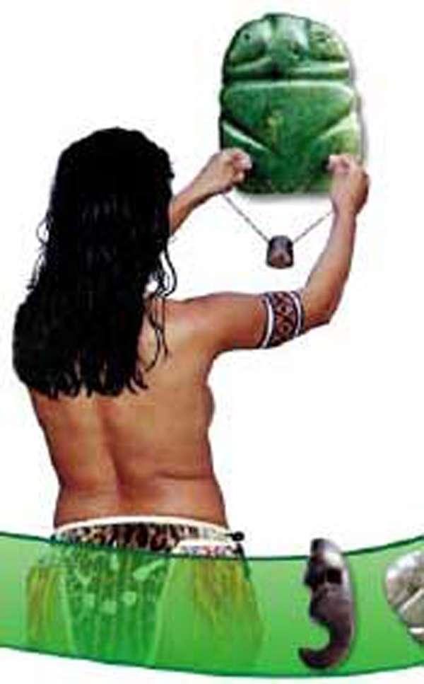 O Muiraquitã é considerado um amuleto de sorte para quem o possui.