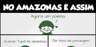 Agora um poema - em amazonês