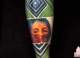 Tatuagens Com Tematica Amazônica - Curumim