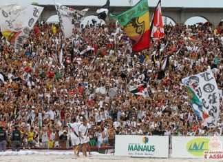 Torcida Vascaína no Beach Soccer Manaus