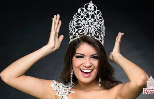 Thayana Fernandes, natural de Nhamundá (AM), após vencer Miss Brasil Teen Universe 2013. Agora, se prepara para vencer a etapa internacional, em maio, na Nicarágua. Foto: Paulo de Lima/Divulgação.