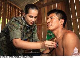Forças Armadas realizam atendimentos médicos e odontológicos na região Amazônia #AGATA7