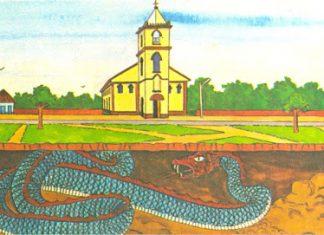 A lenda da cobra grande de Catedral de Itacoatiara
