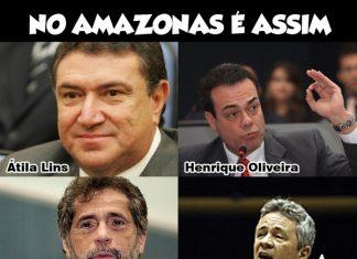 86 deputados federais são favoráveis à espionagem dos EUA contra o Brasil, 4 são do Amazonas!
