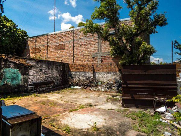 Área para estacionamento - Museu da Fotografia de Manaus Antiga