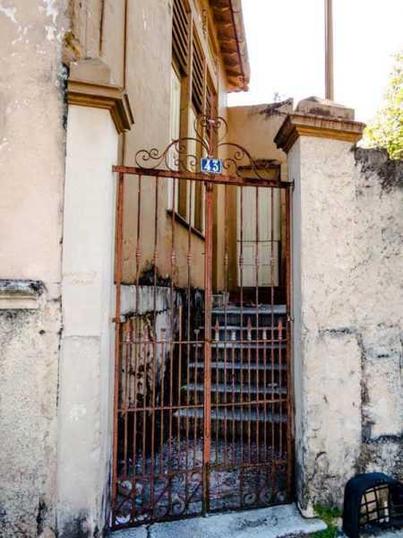 Portão de acesso - Museu da Fotografia de Manaus Antiga