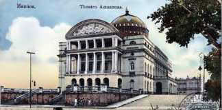 Teatro Amazonas em 1909