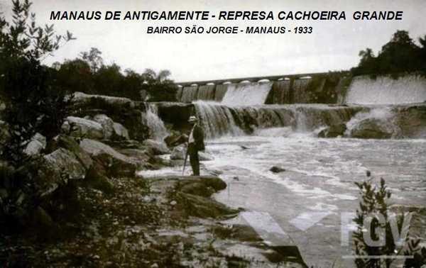 Igarapé da Cachoeira Grande Antigamente