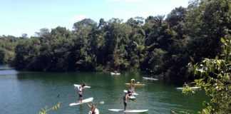 Lago Verde, Manaus. Excelente local para praticar Stand Up Paddle (SUP)