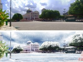 Weather Difference between Summer and Winter in Manaus..