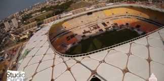 Imagens Aéreas com Drone na Construção da Arena da Amazônia