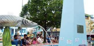 Tanque do Pirarucu em Manacapuru