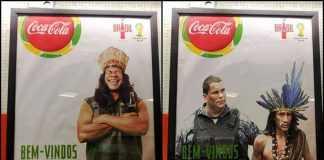 Versão Realista do Cartaz da Coca-Cola