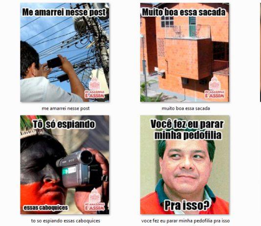 Imagens engraçadas para respostas no Facebook em Amazonês