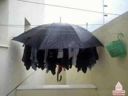 gambiarra para secar roupa dentro de casa
