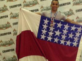Atleta Amazonense de MMA Allen Gabriel brilha nos Estados Unidos