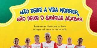Campanha do HEMOAM Homenageia o Futebol Amazonense