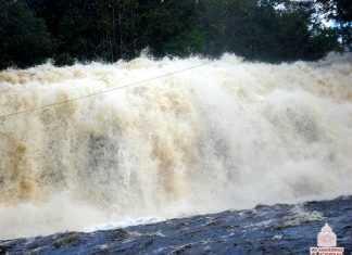 cachoeira de Iracema (km 115 da BR 174)