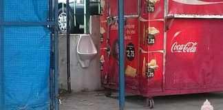 Banheiros públicos padrão FIFA