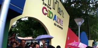 Parque Cidade da Criança no Bairro Aleixo