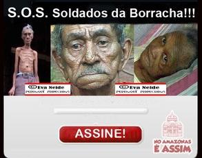 Petição S.O.S Soldado da Borracha