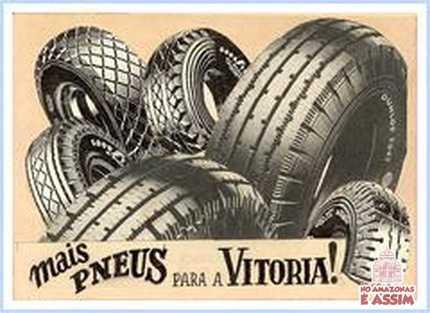 """- """"Mais pneus para a vitorória"""" - (Diz um dos cartazes utilizados nas campanhas para o recrutamento dos """"Soldados da Borracha"""" no Nordeste) -"""