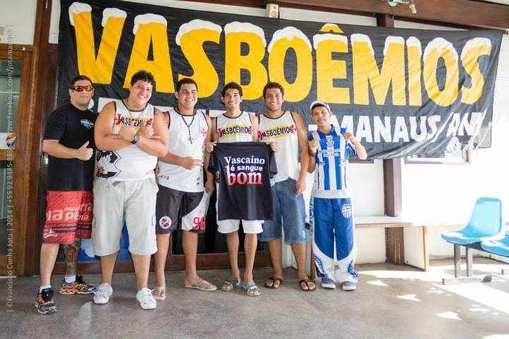 Vasboêmios Manaus. Vascaíno bom de sangue