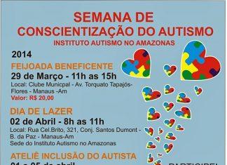PROGRAMAÇÃO 02 DE ABRIL 2014 DO INSTITUTO AUTISMO NO AMAZONAS