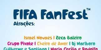Prefeitura confirma atrações para a FIFA Fan Fest