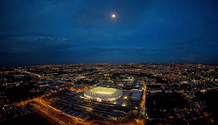 Fifa aponta Manaus como a cidade-sede com o melhor desempenho na Copa