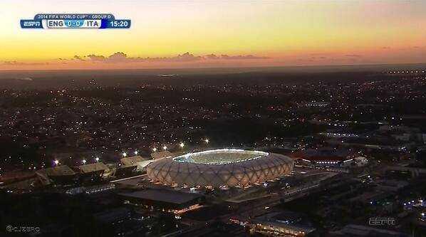 Manaus tem maior índice de aprovação entre as cidades-sede da Copa do Mundo 2014