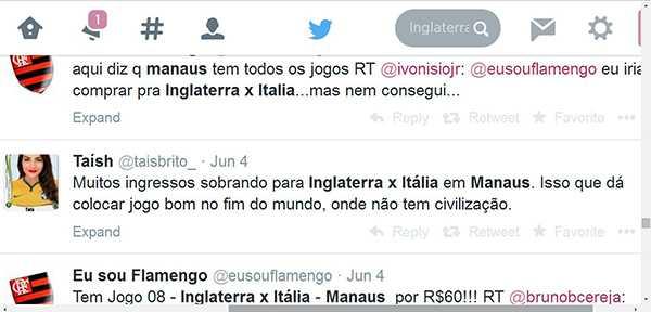 Tuiteira causa revolta ao dizer que Manaus não têm civilização.