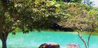 A Lagoa Azul em Presidente Figueiredo