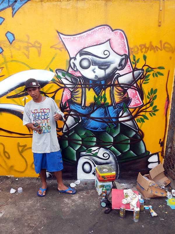 BMC Tintas Suvinil 2013 grafite manaus (3)