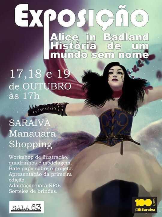 Exposição Alice in Badland - História de um mundo sem nome