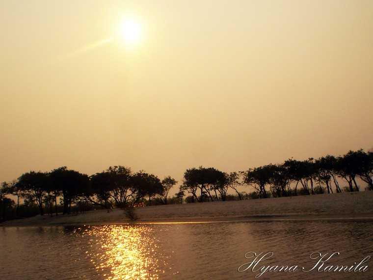 Praia da Freguesia-Coari-AM (Foto: Hyana Kamila)