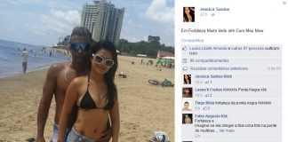 Jéssica Santos curtindo Fortaleza co seu Mow. Só se for a Fortaleza de São José do Rio Negro