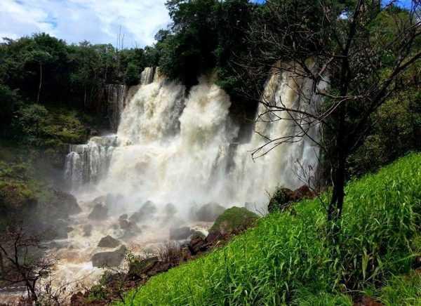 Cachoeira do 48 em Apuí Foto: Izac Theobald